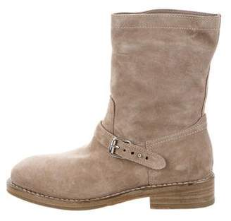 Rag & Bone Suede Oliver Ankle Boots w/ Tags