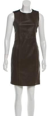 Belstaff Leather Mini Dress w/ Tags