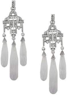 Lauren Ralph Lauren Crystal Chandelier Drop Earrings