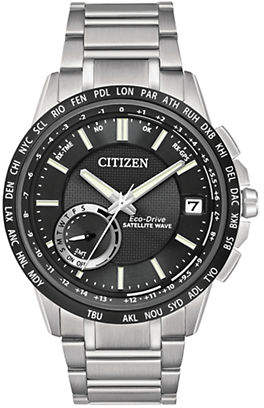Citizen Satellite Wave-World Time GPS Watch