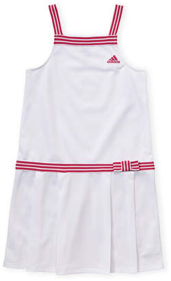 1026daf8e279 adidas Girls 4-6x) Striped Trim Tennis Dress