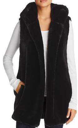 Capote Lola Hooded Faux-Fur Vest