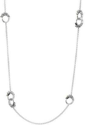 John Hardy Legends Naga 18K Gold & Silver Necklace