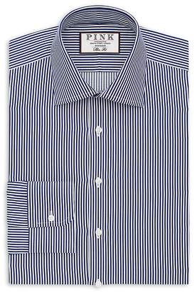 Thomas Pink Grant Stripe Dress Shirt - Bloomingdale's Regular Fit
