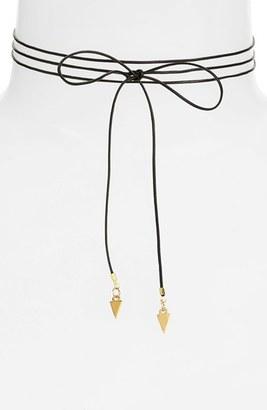 Women's Vanessa Mooney Vista Bolo Wrap Necklace $55 thestylecure.com