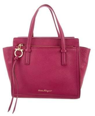 Salvatore Ferragamo Textured Mini Tote Bag