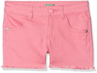 Benetton Girl's Short,One (Size: KL)