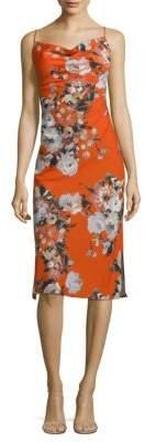 ABS by Allen Schwartz Floral Slip Dress