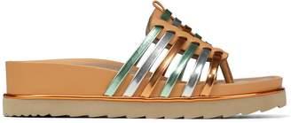 Donald J Pliner CARA, Vachetta Leather Platform Sandal