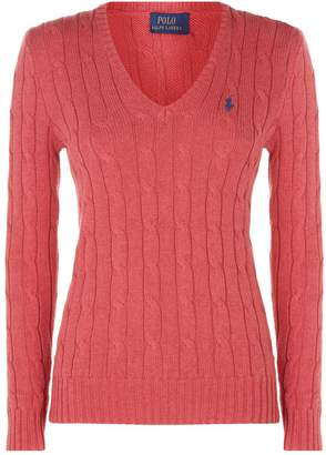 Polo Ralph Lauren Kimberly Cable Knit Sweater