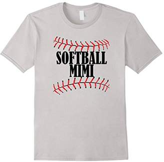 Softball MIMI Tshirt Grandma Grandparents Shirt Softball