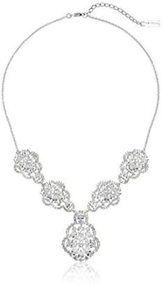 Nina Porsha Glamorous Decorative Pear Shape 5 Element Y-Shaped Necklace