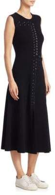 Alberta Ferretti Wool & Cashmere Dress