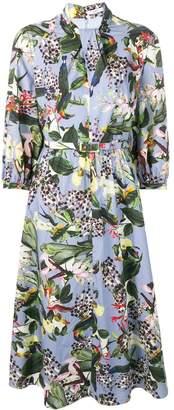 Erdem Adrienne printed dress