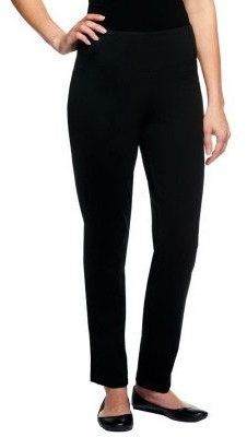 Women With Control Women with Control Tall Slim Leg Ankle Pants w/ Waist Seams