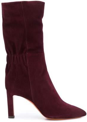 Santoni heeled slip-on boots