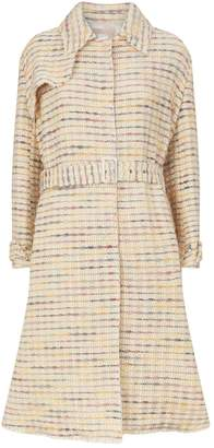 Brock Collection Orgosolo Woven Belted Trench Coat