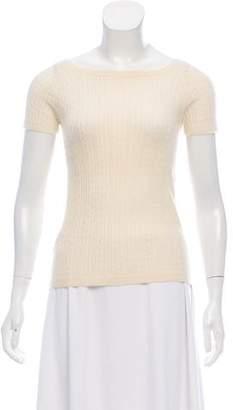 Giorgio Armani Cashmere Cable Knit Sweater