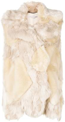 Stella McCartney faux-fur vest