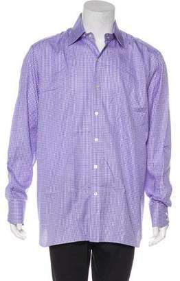Tom Ford Patterned Button-Up Shirt