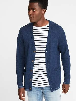 Old Navy Classic Button-Front Cardigan for Men