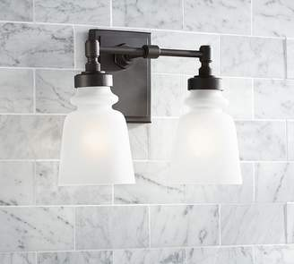 Pottery Barn Benchwright Double Sconce