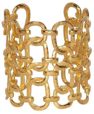 Kenneth Jay Lane Open Multi Link Cuff Bracelet