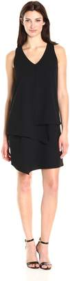 Karen Kane Women's Layered Angle Dress