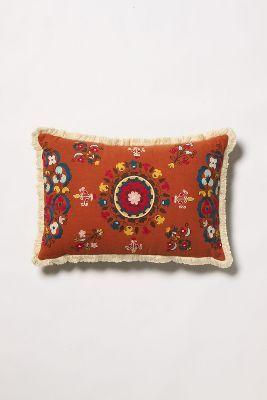Lost Garden Pillow, Orange