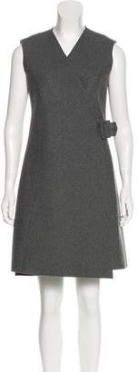 J.W.Anderson Wool-Blend Wrap Dress