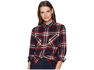 Pendleton Piper Cropped Wool Shirt