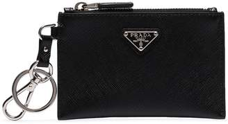 Prada keychain coin purse