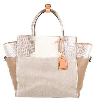 Reed Krakoff Alligator-Trimmed Atlantique Bag