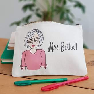 Equipment Syd&Co Personalised Create Your Own Teacher Pencil Case