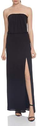 Halston Strapless Draped-Back Gown - 100% Exclusive