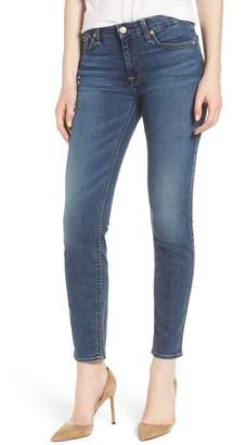 7 For All Mankind b(air) High Waist Ankle Skinny Jeans