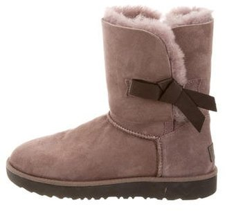 UGG Australia Classic Knot Ankle Boots $145 thestylecure.com