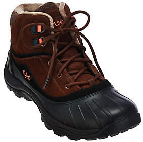 Ryka Water Resistant Lace-up Boots - Mallory