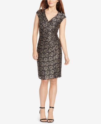 American Living Floral-Print Cap-Sleeve Dress