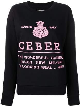 Iceberg logo knitted sweatshirt