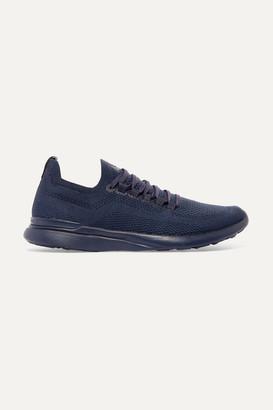 APL Athletic Propulsion Labs Techloom Breeze Mesh Sneakers - Navy