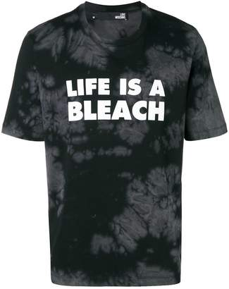 Love Moschino Life Is A Bleach T-shirt