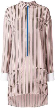 Esteban Cortazar striped shirt dress