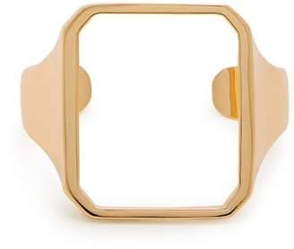Maison Margiela Gold Open Cuff - Womens - Gold