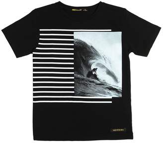 Finger In The Nose Surfer Printed Cotton Jersey T-Shirt