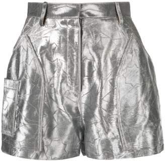 Roberto Cavalli star embroidered shorts