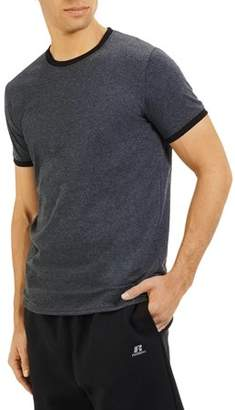 Russell Athletic Men's Essential Dri-Power Ringer T-Shirt with 30+ UPF