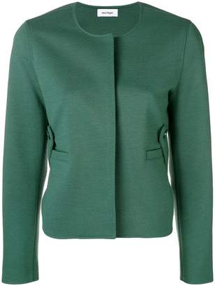 Courreges fitted cropped jacket