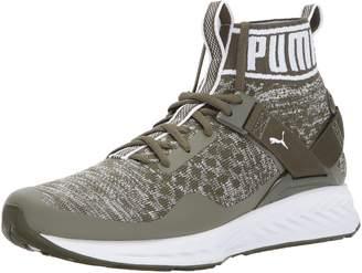 Puma Men's Ignite Evoknit Cross-Trainer Shoe, Black/Quiet Shade Black