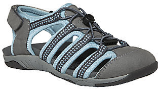 Propet Rejuve Leather Fisherman Sandals - Hilde $94 thestylecure.com